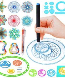 Spirographe set création dessins géométriques & spirales