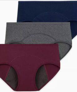 Pack culottes menstruelles en coton bio